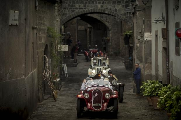 "Legendarny rajd ""Mille Miglia"""
