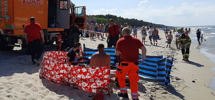 Tragedia nad Zatoką Gdańską. Utonął 22-latek