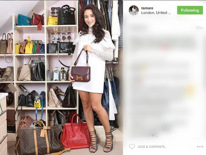 """O njoj piše """"Dejli mejl"""": Kolekcija torbi naše blogerke teška je više od 100.000 evra!"""