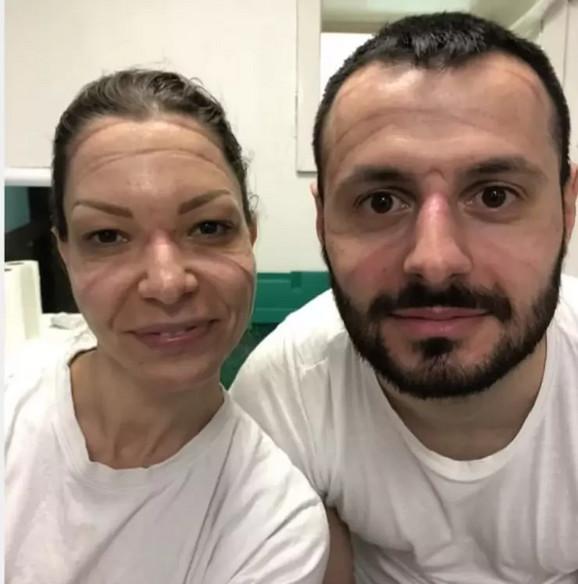 Lekari Milena Stojanović i Nikola Trajković