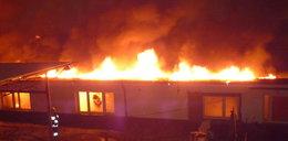 Pożar hali w Mysłowicach