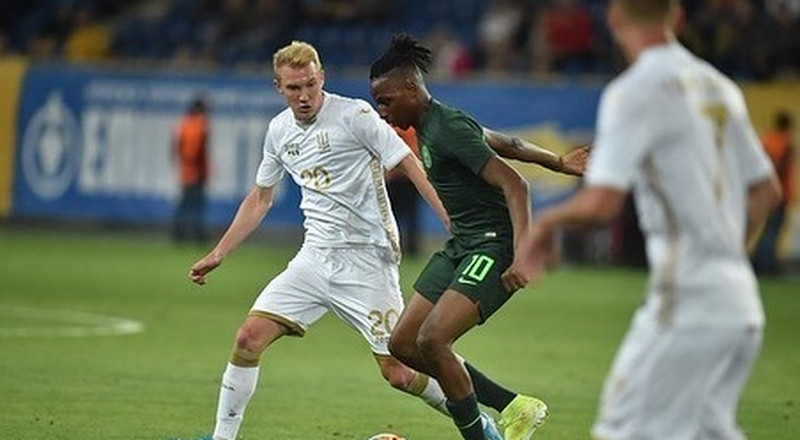 Joe Aribo: Super Eagles new boy delighted with his debut goal in Nigeria's 2-2 draw with Ukraine
