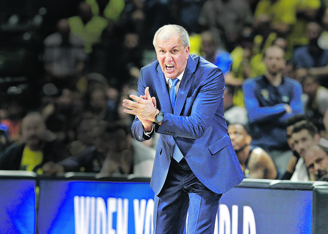 Željko Obradović, trener Fenerbahčea