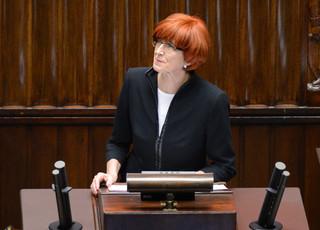 Rafalska do PO: Polskie rodziny nie zapomną wam tej obłudnej debaty