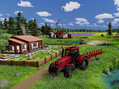 "Kadry z gry ""Farm Manager"" PlayWay"