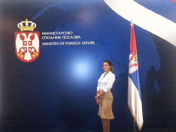 Vanja Hadžović nedavno je upisala Diplomatsku akademiju