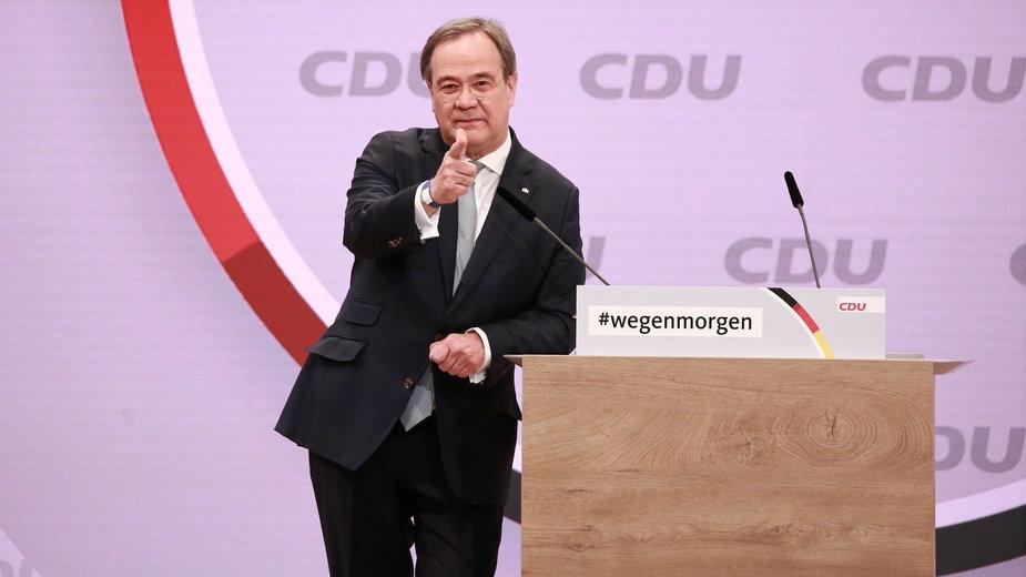 Niemcy: Armin Laschet (na zdjęciu) nowym liderem Unii Chrześcijańsko-Demokratycznej (CDU)