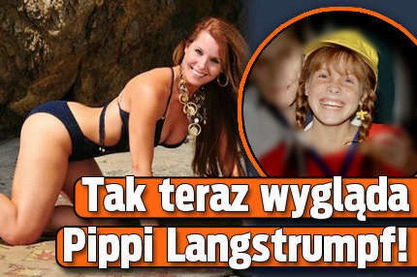 Tak teraz wygląda Pippi Langstrumpf