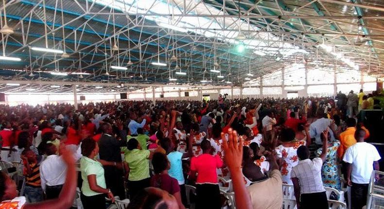 MFM members praying