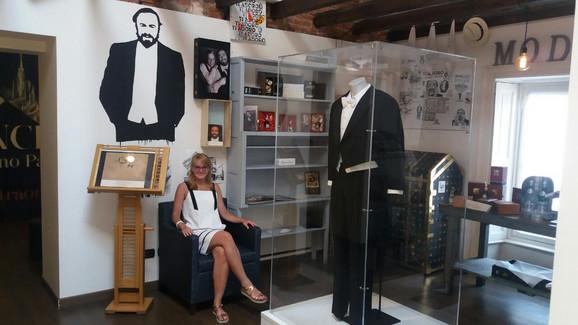 Jelena Popović, kustos Muzeja Zepter u Restoranu-muzeju Pavaroti