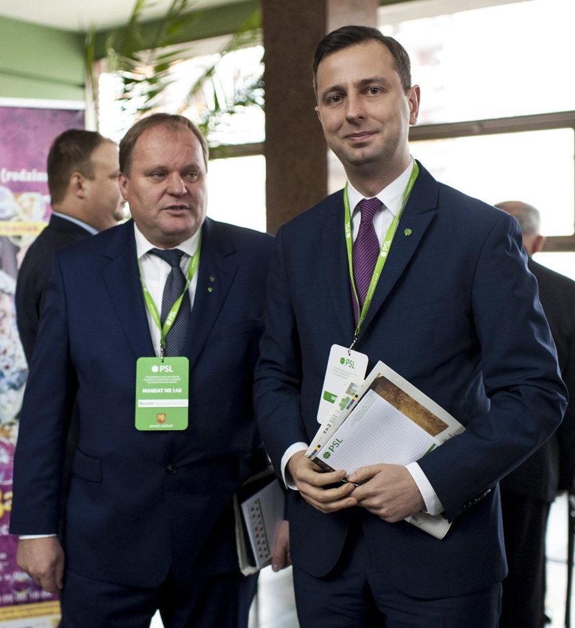 Mieczysław Baszko i Władysław Kosiniak – Kamysz