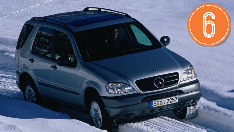 Mercedes ML I (1997-2005), od 9000 zł