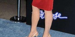 53 letnia aktorka - ale ma nóżki!