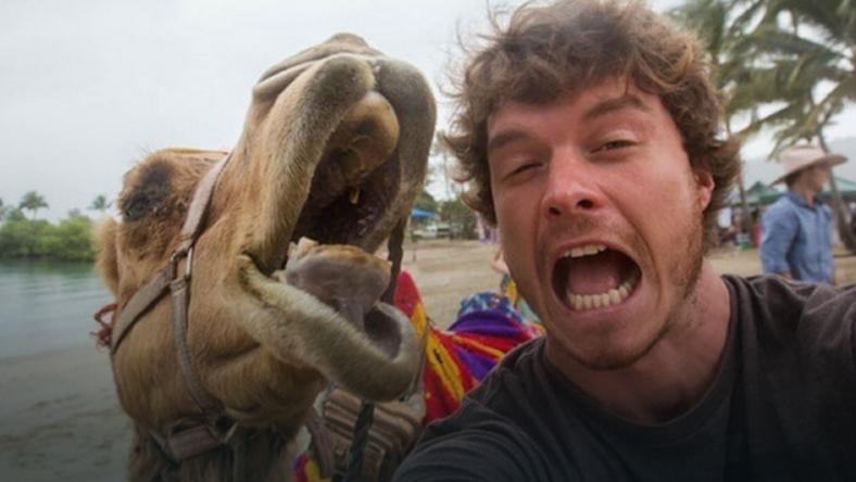 Fotka z wielbłądem