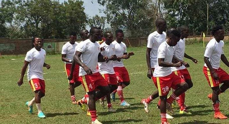 Shabana FC players during training. Packed programme as NSL begins