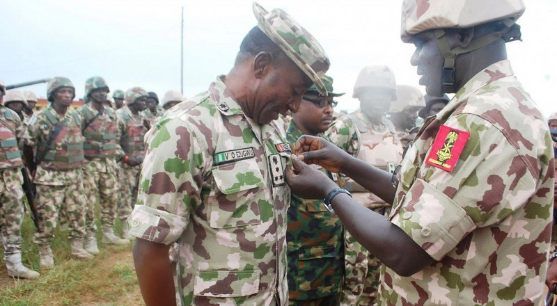 Buratai flags- off operation Python Dance in Delta