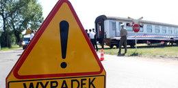 Pociąg staranował ciężarowkę
