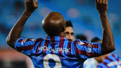 Nigerian forward Anthony Nwakaeme scores in consecutive games for Trabzonspor in Turkey