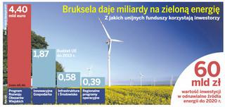 Polskie przedsiębiorstwa ruszyły po dotacje na wiatraki i kolektory słoneczne