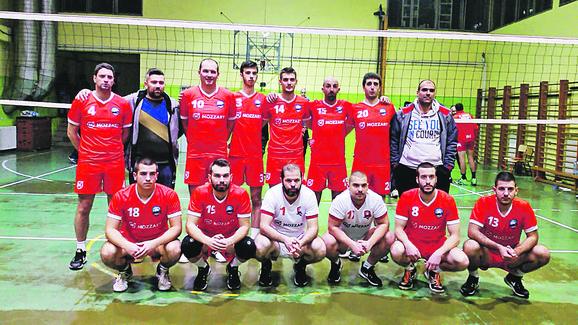 Nenad Manojlović (4), Dejan Ilić (10), Nemanja Nikolić (20) i Miljan Miljanović (1) predvode mlade