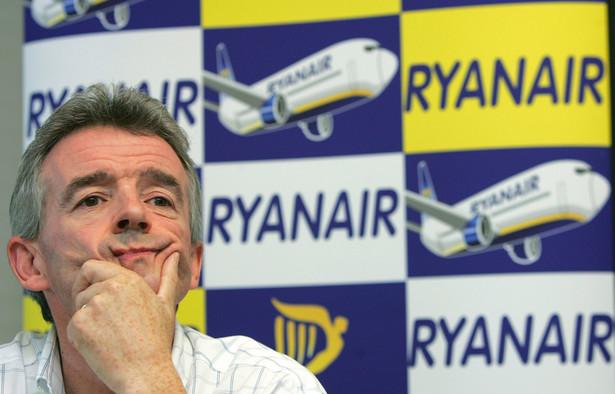 Michael O'Leary, prezes Ryanaira, skarży się na PPL w Departamencie Konkurencji Komisji Europejskiej.