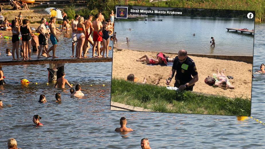 Mężczyzna robił zdjęcia dziewczynkom w kostiumach kąpielowych. Dzieci zabrały mu telefon