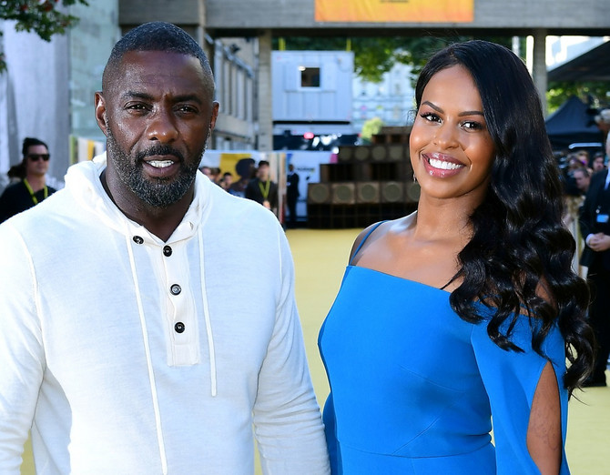 Idris Elba i Sabrina