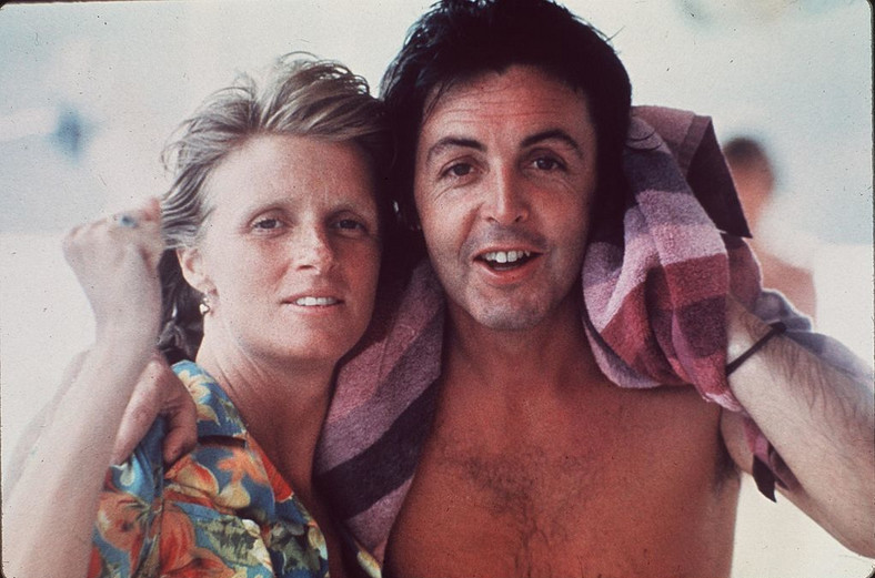 Linda Eastman  Paul McCartney