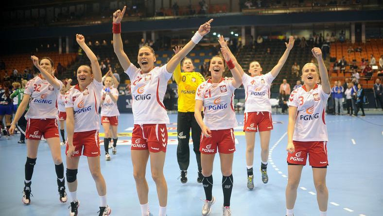Tak polskie szczypiornistki cieszyły się z awansu do półfinału MŚ
