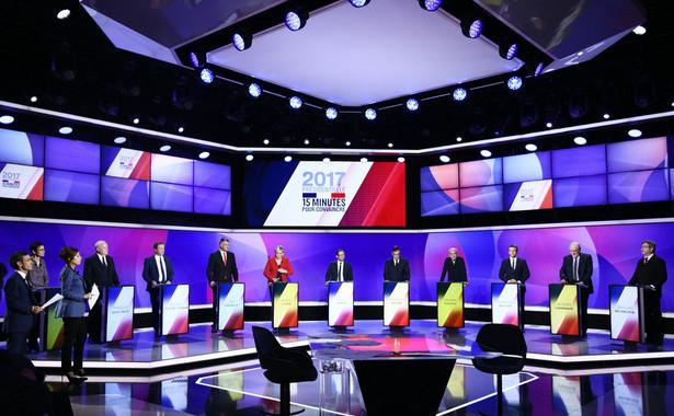 Debata prezydencka we Francji