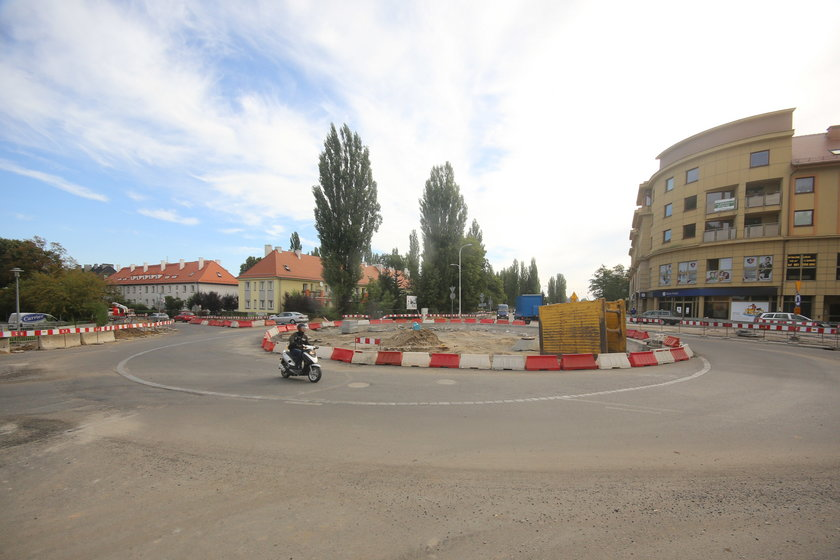 Nowe rondo na ul. Zwycięskiej we Wrocławiu