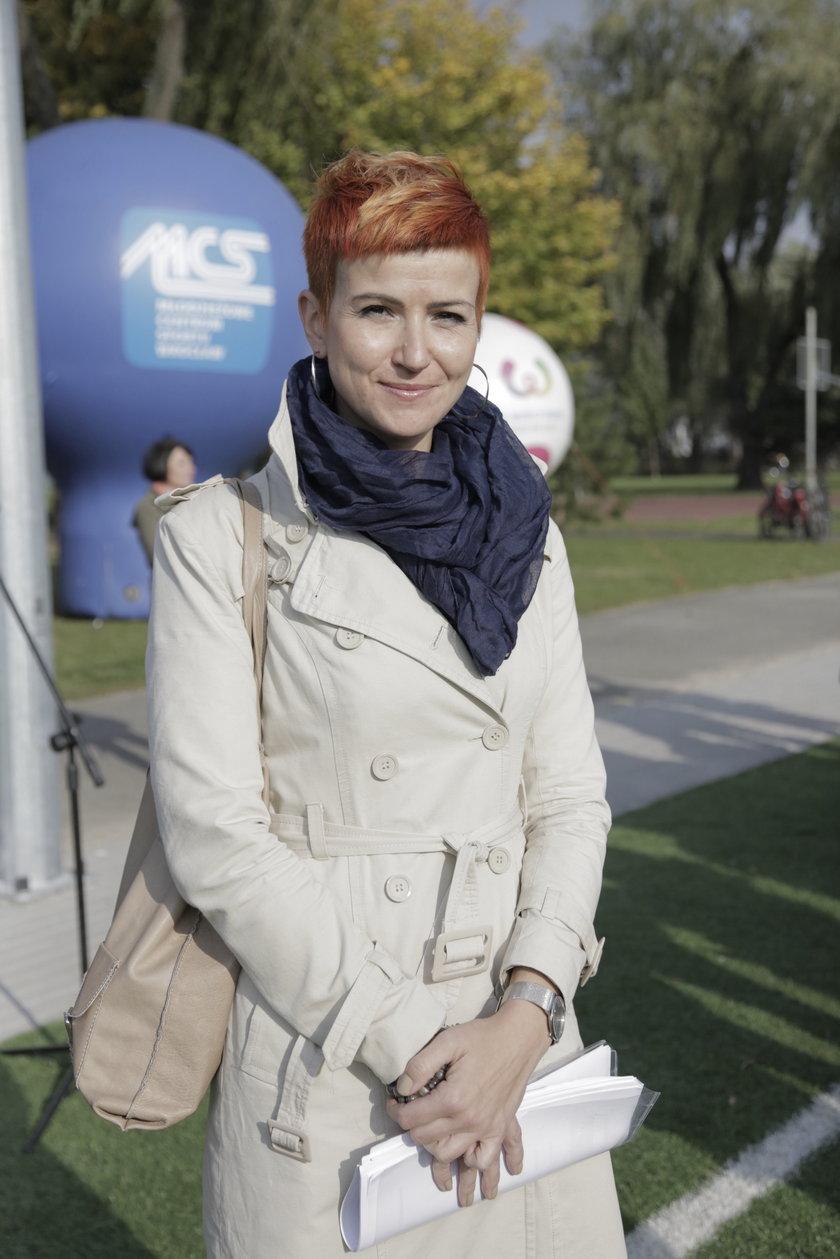 Katarzyna Szymczak-Pomianowska (36 l.), wrocławski magistrat