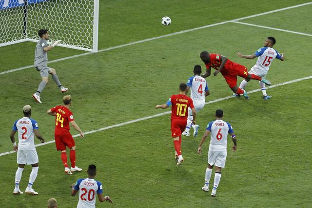 Trenutak kada je Lukaku savladao golmana Peneda
