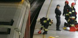 Wypadek w metrze. Mężczyzna wpadł pod pociąg