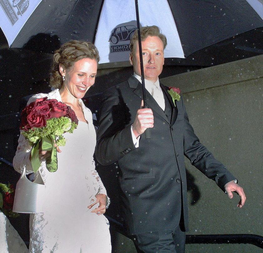 Conan OBrien i Liza Powell
