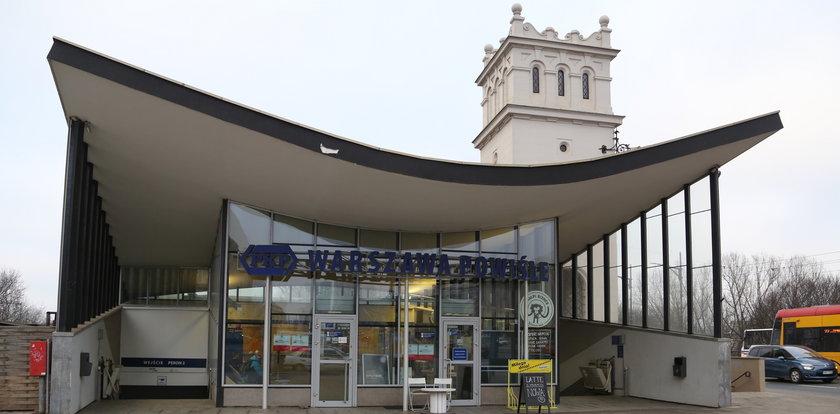 Fuszerka na stacji PKP Warszawa-Powiśle