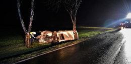 Przerażający wypadek pod Wrocławiem. Nie żyje młody mężczyzna