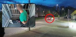 Potrącił kobietę na pasach i uciekł. Wpadł po dwóch dniach, bo połakomił się na kebaba [FILM]