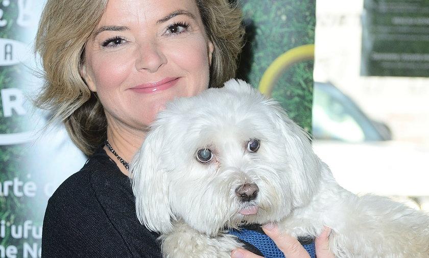 Monika Richardson z psem