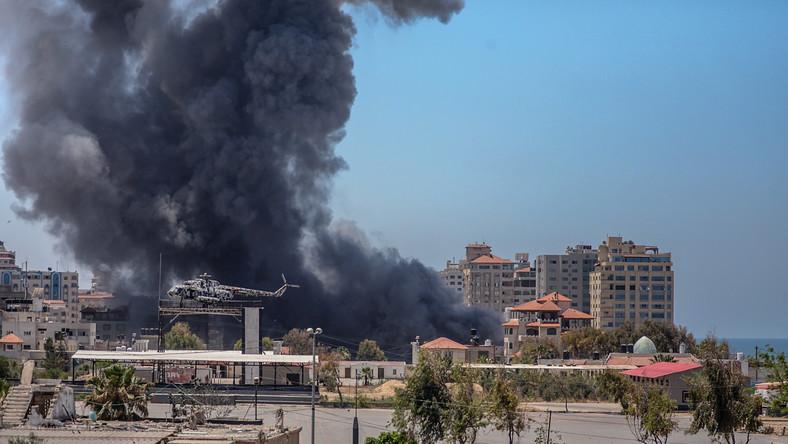 Izraelskie naloty na Strefę Gazy