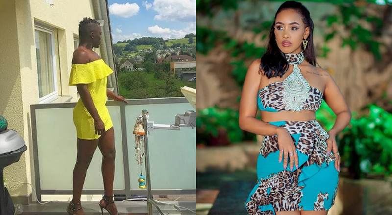 Tanasha Donna's gay bestie claims Jalang'o forced her to delete his video jamming to her song Sawa
