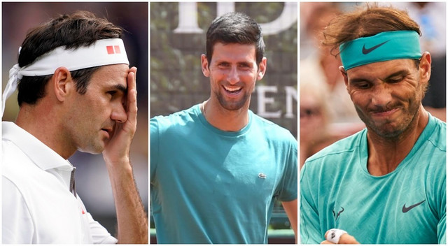 Novak, Federer, Nadal
