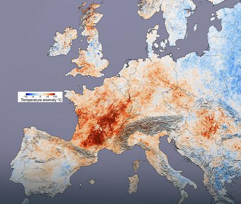 Visoke temperature su 2003. godine odnele oko 70.000 žrtava