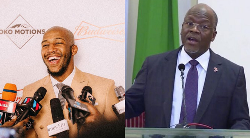 Idris Sultan was arrested for laughing at Magufuli's TBT Photos - Lawyer