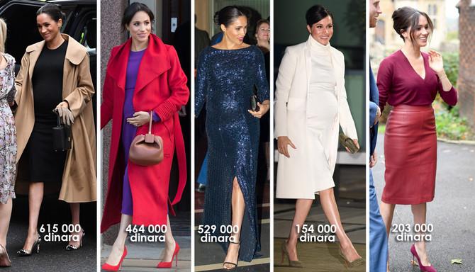 Koliko stvarno Megan Markl troši novca na odeću? Pogledajte!