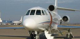 Prezydencki samolot zawrócił przez rozlaną kawę