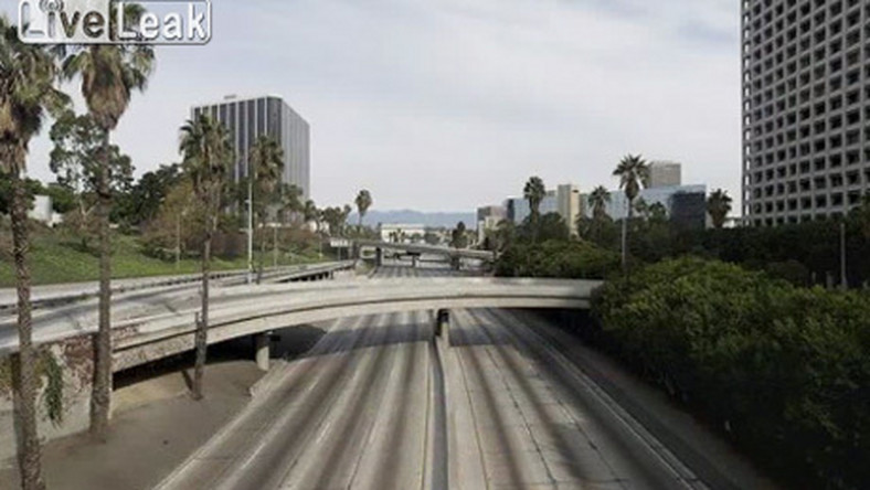 Co wygnało wszystkich ludzi z Los Angeles?