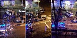 Wstrząsające nagranie z wypadku. Auto staranowało dwie nastolatki