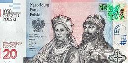 Oto nowy banknot 20 zł. NBP pokazał jak wygląda