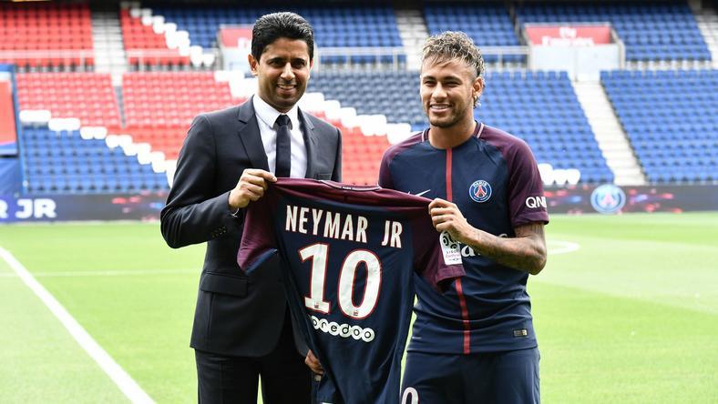 Nasser Al-Khelaifi i Neymar